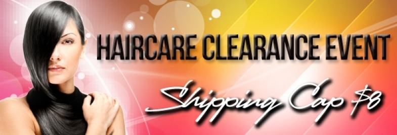 Haircare Clearance Event Products