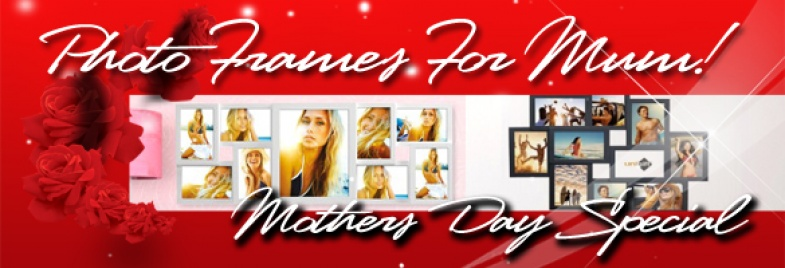 Photo Frames for Mothers Day! Products