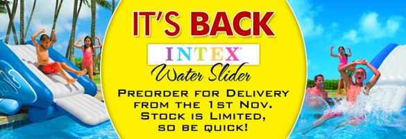 Intex Water Slide Preorder