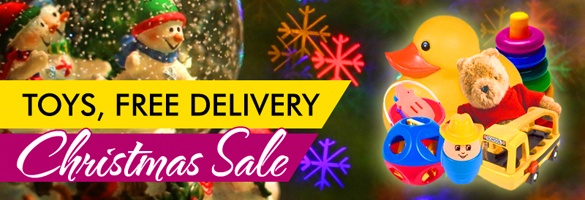 Free Delivery On Toys For Christmas Products