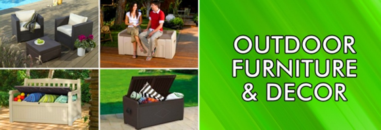Outdoor Furniture & Decor