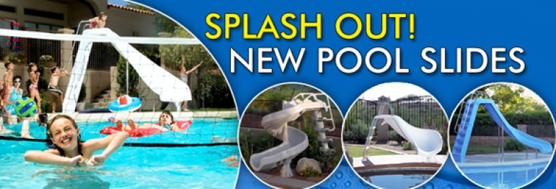New Pool Slides