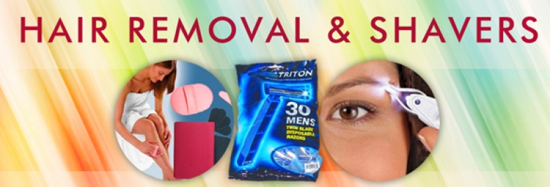Hair Removal & Shavers
