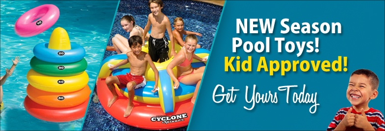 New Season Pool Toys