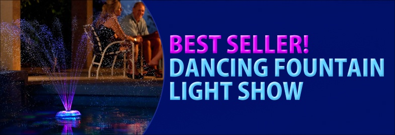 Light Show and Fountain, Best Seller