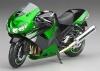 Motorbike Kawasaki ZX-14 2009 1:12