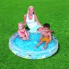 Ocean Life 2 Ring Pool Inflatable Pool, Bestway 51006
