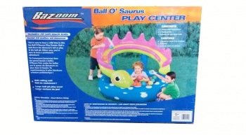 Ball O' Saurus Play Centre, Ball pit, Bazoom