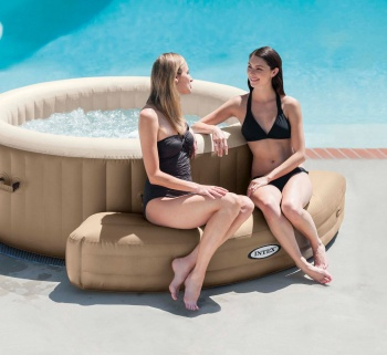 PureSpa Inflatable Bench, Beige