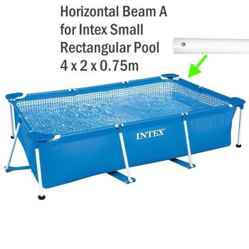Horizontal Beam A For 2.0m X 3.0m X 0.75m Small Rectangular Frame Pool