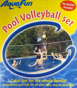 AquaFun Pool Volleyball Set, 4.8m wide