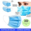 50pcs 3 ply Surgical Face Mask, Virus Face Mask Dust, Salon, Flu, Bacteria Protection