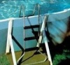 Above Ground Pool Ladder - Sterns 1 - 1.2m Galvanised Ladder