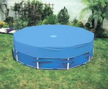 Intex Pool Cover - 10ft Metal Frame Pool