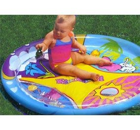 Kinderland Activity Playmat with Infatable Safety Tube