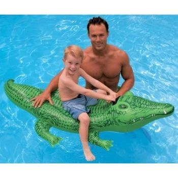 Lil Gator Ride-On, Crocodile Pool Toy