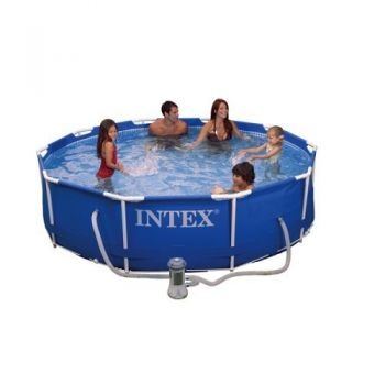 Intex Metal Frame Pool with Filter (10x30)
