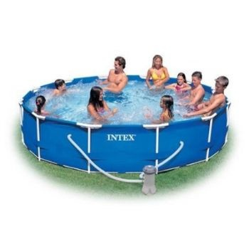 Intex Metal Frame Pool with Filter (12 x 30)