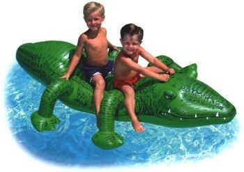 Giant Gator Ride-On, Alligator Pool Toy