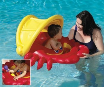 Cozy Crab Sunshade Float - Baby Sunshine Float
