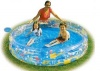 Deep Dive 3 Ring Inflatable Kids Pool