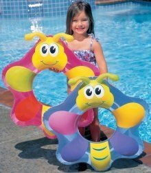 Intex Butterfly Swim Ring 27""
