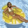 Water Pop Circular Lounge by Poolmaster, Pool Lounge, Red product image