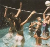 Across Pool Combo Volleyball & Badmington Game by Poolmaster