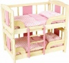 Pintoy Wooden Doll's Bunk Bed