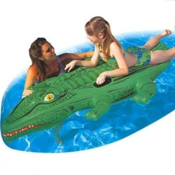 Crocodile Rider Pool Toy 84 x 53 by Bestway