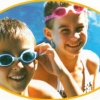 Junior Squirts Swim Pack - Blue Goggles and White Swim Cap product image
