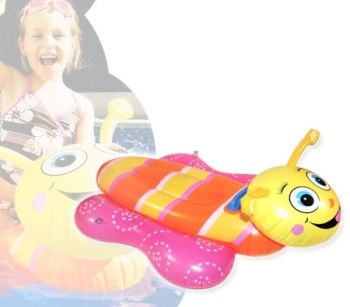 Deep Blue Large Floating Inflatable Bee Ride On