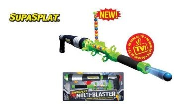 Wahu Supersplat Multiblaster - Paintball Gun Explosion | In Water Guns