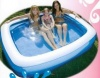 Family Rectangular Pool, 200 x 150 x 50cm Inflatable Pools