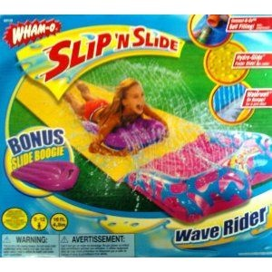 Wham-O Slip N Slide Wave Rider with Bonus Inflatable Boogie Board, Slip and Slide