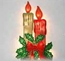 Christmas Light, Candle Wall Display Sculpture