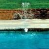 Pool Fountain - Flower Design