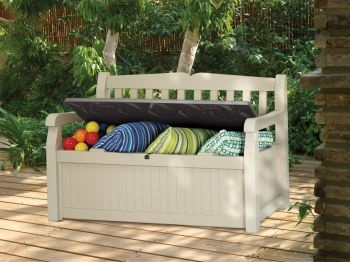 Eden Garden Bench, Storage Box