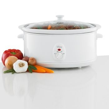 Tiffany 6.5L Slow Cooker with Temepered Glass Lid