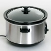 Tiffany 6.5L Slow Cooker, Stainless Steel product image
