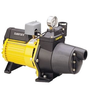 Davey 125S Shallow Well Pressure Pump, Std Injector, 1.4kW 240V 50Hz 1ph Incl Pressure Switch