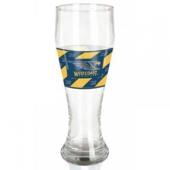 AFL Challenge Glass, Beer Glass, West Coast Eagles