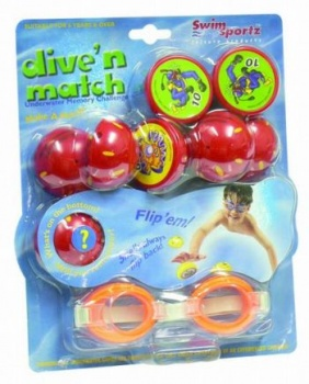 Swimsportz Dive N Match, Pool Toy Diving Game