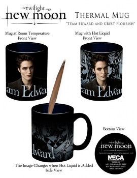 Coffee Mug, New Moon Thermal Mug, Team Edward
