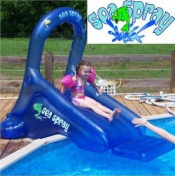 Sea Spray Inflatable Pool Slide, Inflatable Slide