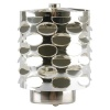Candle Holder Rotating Light Ovals