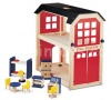 Pintoy Fire Station, Wooden Playset