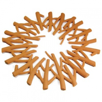 Camp Fire Design Silicone Trivet