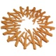 View Camp Fire Design Silicone Trivet