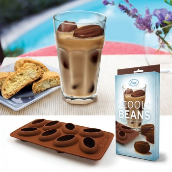 Cool Bean Ice Trays, Coffee Bean Ice Cubes